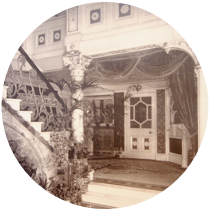Grand Theatre Blackpool fernery grotto in 1910
