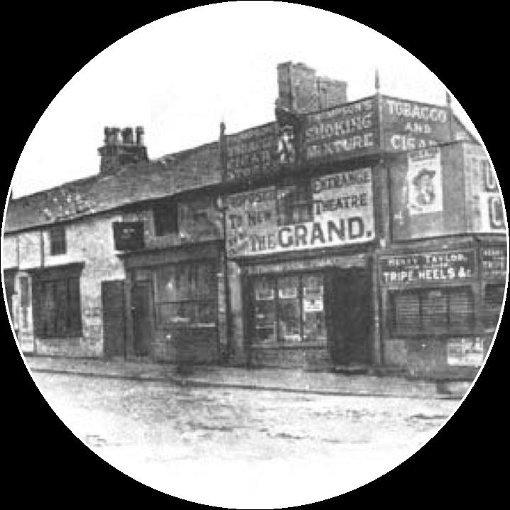 Grand Theatre Blackpool in 1887
